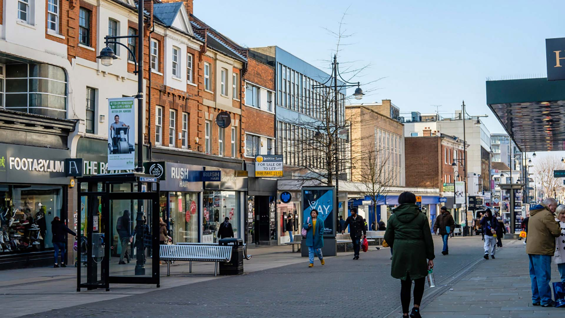 Panorama to illustrate dating in romford