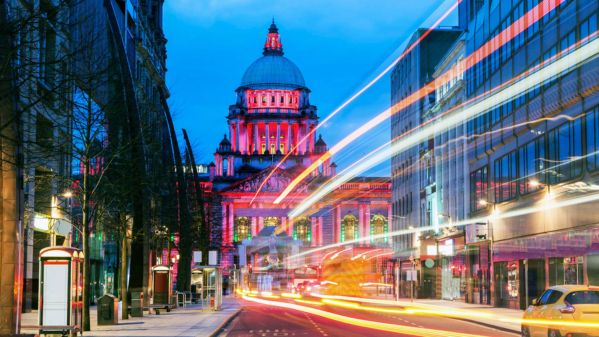 Panorama to illustrate dating in belfast city