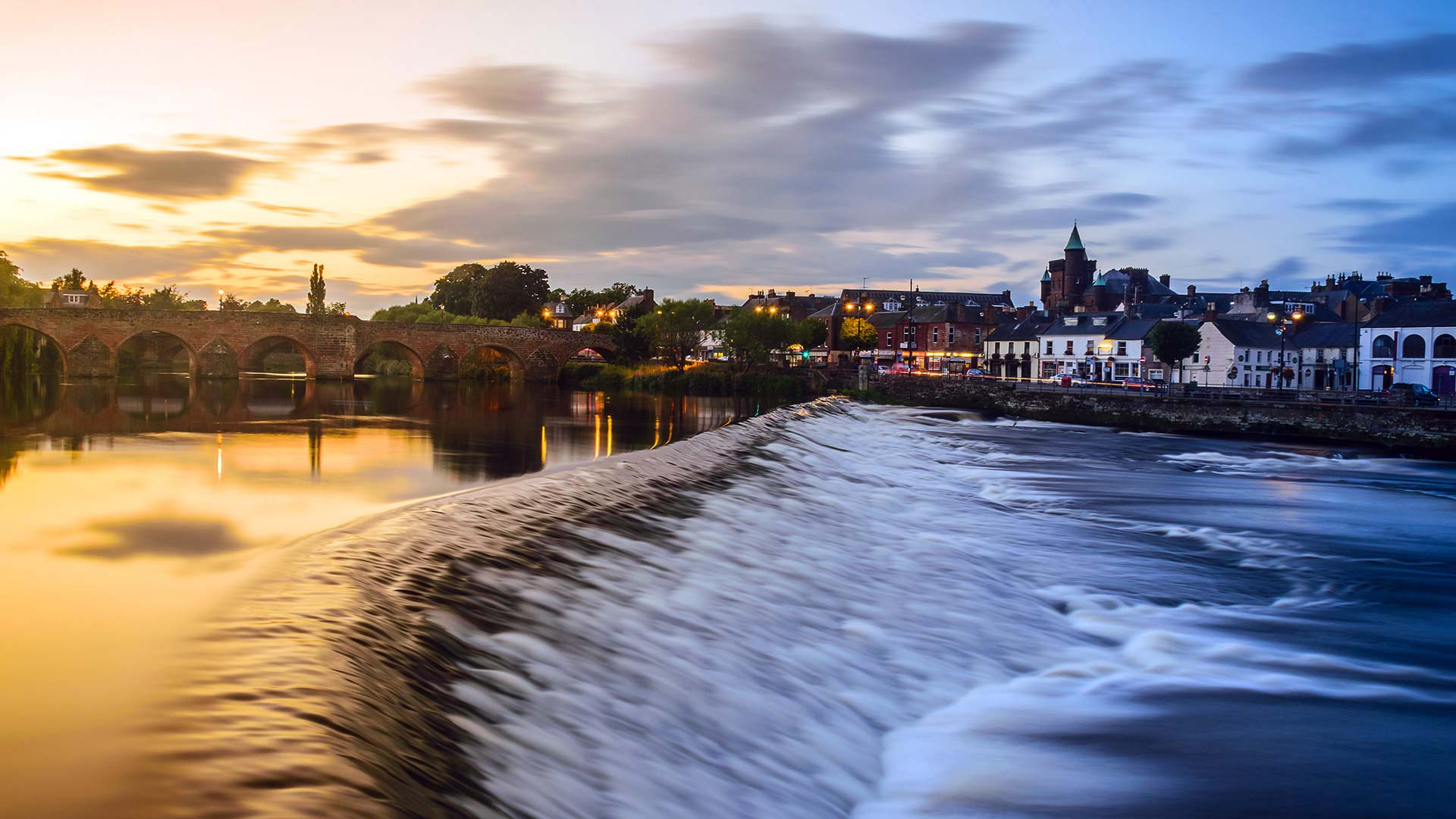 Panorama to illustrate dating in dumfries