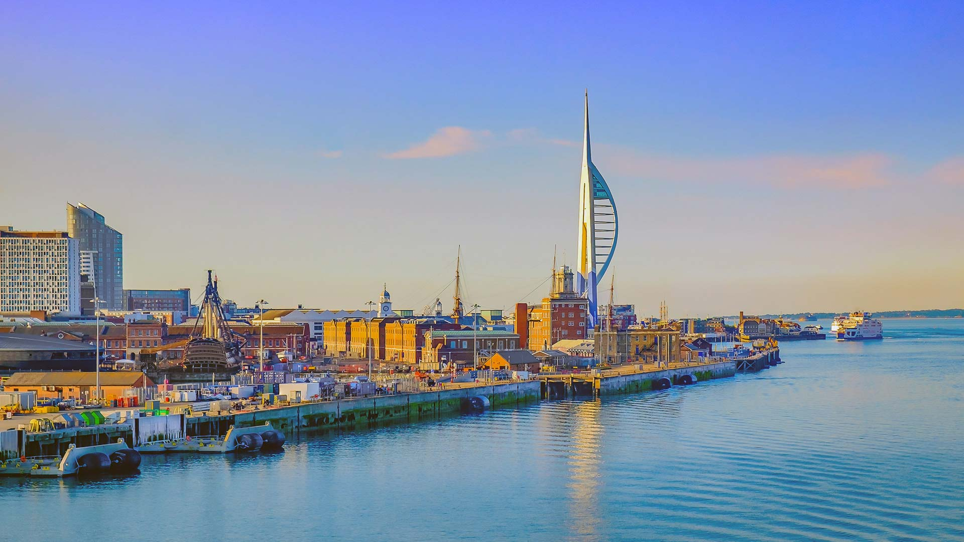 Panorama to illustrate dating in portsmouth