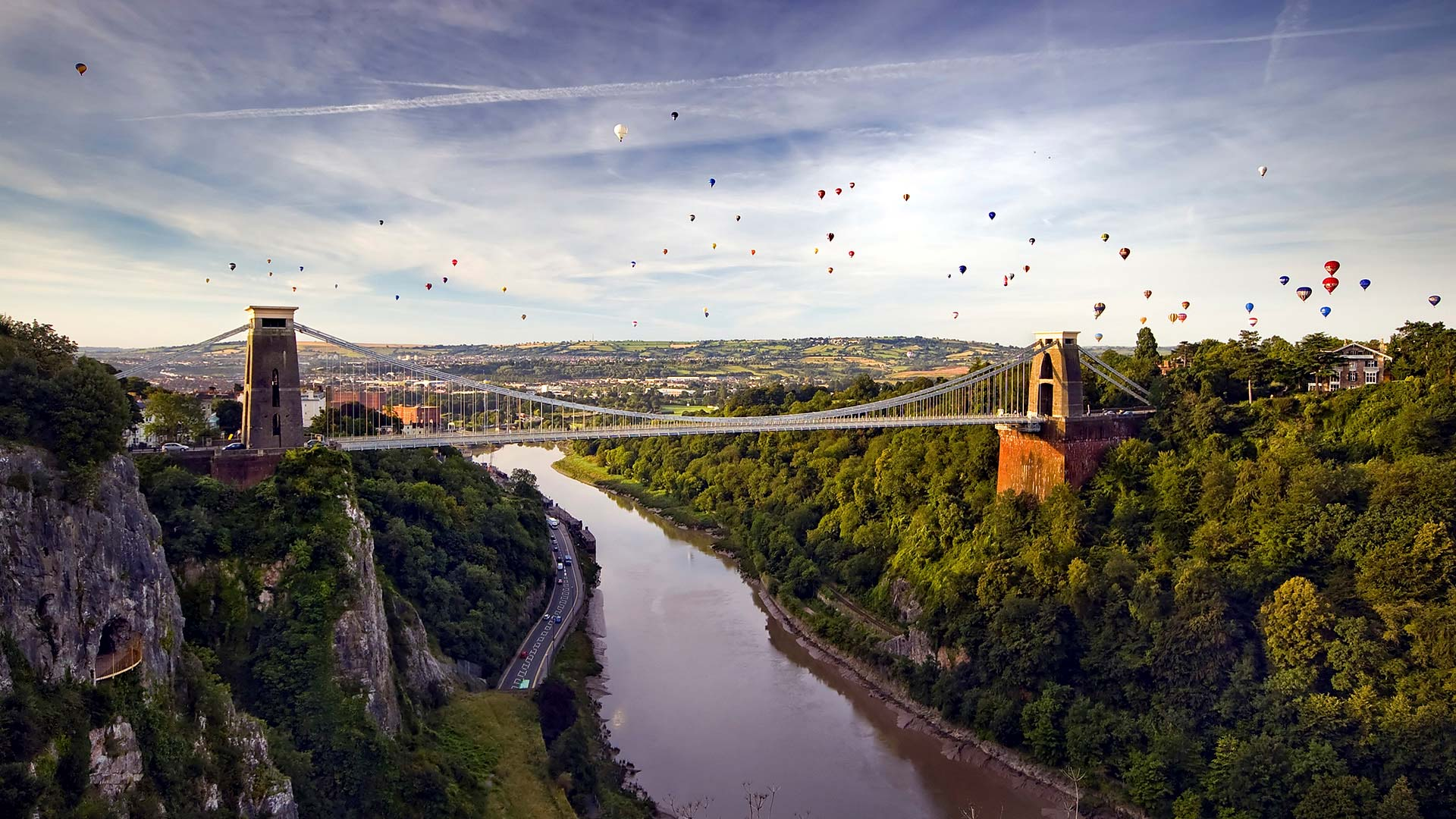 Panorama to illustrate dating in bristol