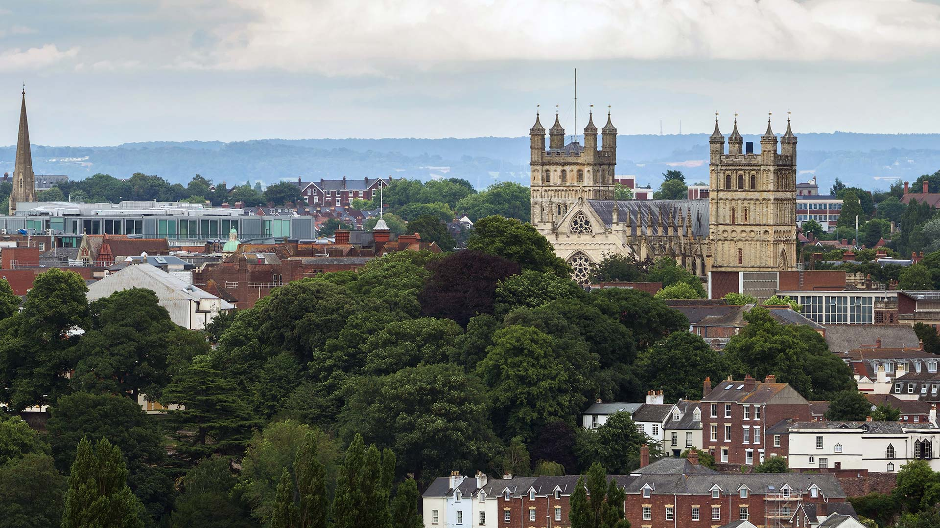 Panorama to illustrate dating in exeter