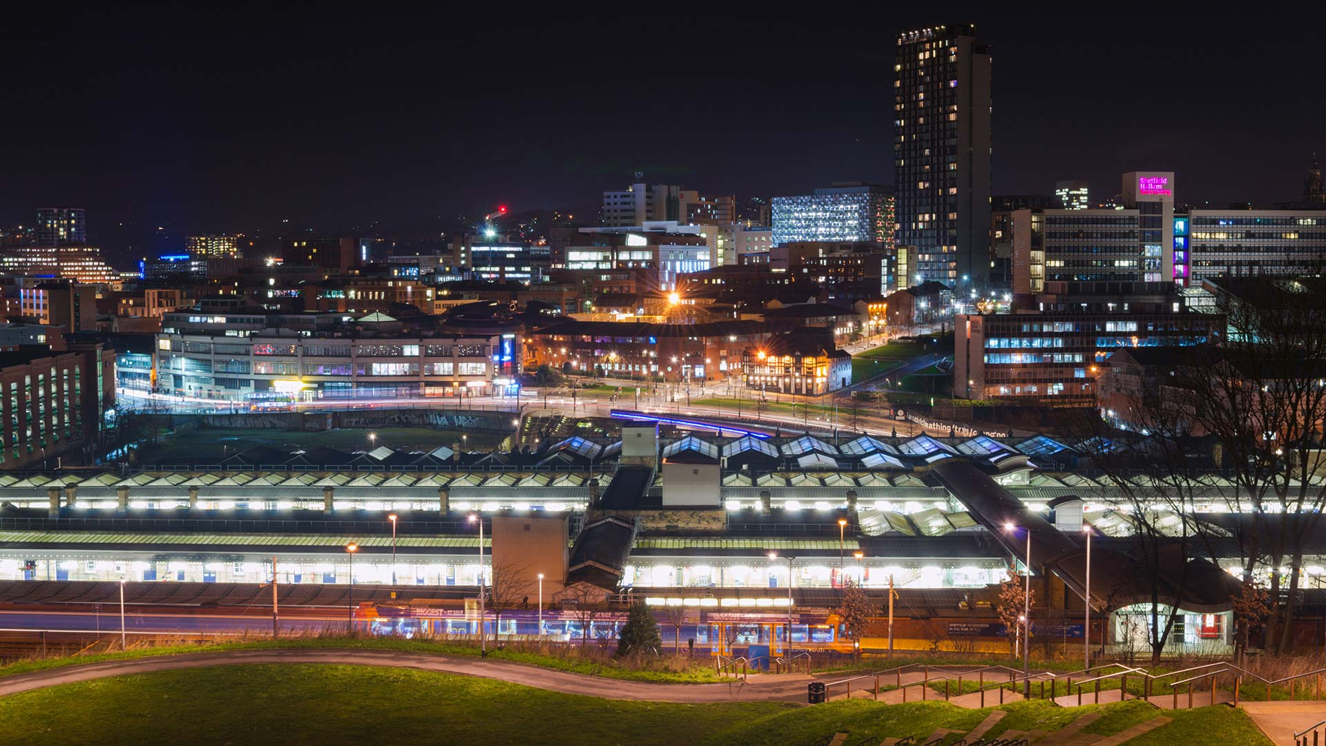 Panorama to illustrate dating in sheffield