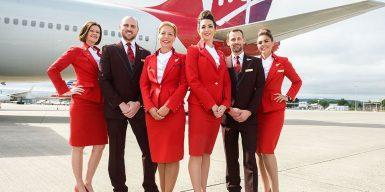 Virgin Atlantic cabin crew